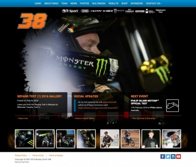 Bradley Smith Website Design and Development