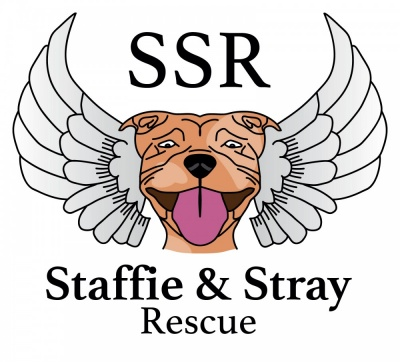 Staffie and Stray Logo Design