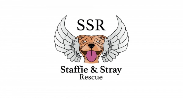 Staffie and Stray Rescue Logo
